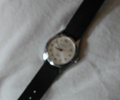 fuzzy picture of wristwatch